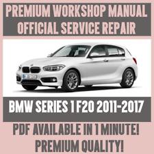 WORKSHOP MANUAL SERVICE & REPAIR GUIDE for BMW 1 SERIES F20 2011-2017