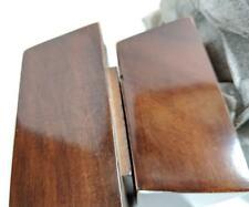 Furniture Feet/Legs Tapered Hi Gloss Brown Finish Set of 4 (higloss4x3)
