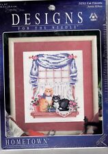 Counted Cross Stitch Kit:  Cat Friends