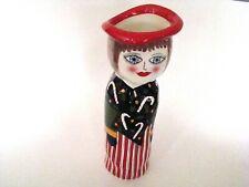 GANZ Bella Casa Susan Paley Lady Vases - Kathryn Christmas Holiday Lady BC5555