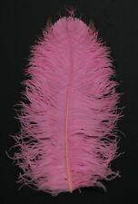 "3 PINK Ostrich FEATHERS 18-23"" Full Wing PLUMES; Bridal/Wedding/Centerpiece"