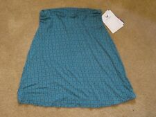 "New White Sierra Dailey Duty Stretch Active Skirt ""Vintage Indigo"" Turquoise XS"