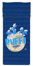 Quilt Copriletto trapuntato una Piazza cm 170x260 Bassetti Puffi Planet Blu