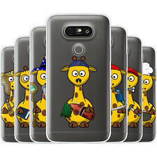 Dessana Sweet Giraffes TPU Silicone Protective Cover Phone Case Cover For LG