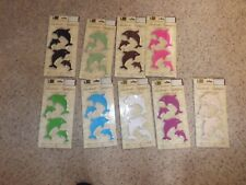Better Home Bathtub Appliques 12 Dolphin self adihesive (NIP) pick your color