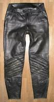 """"""" Dainese """" Men's Motorcycle - Leather / Biker Pants IN Black Approx. Size 44/46"""