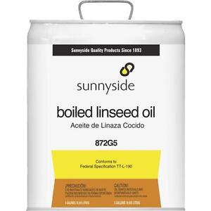 Sunnyside 5Gal Boiled Linseed Oil