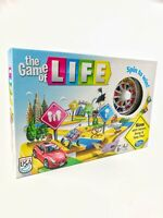 The Game Of Life Spin To Win Board Game Hasbro Instant Setup 2013 New Open Box