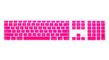 Color Silicone Cover Skin Protector For Apple imac G6 Desktop PC Wired Keyboard