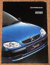 2000 CITROEN SAXO 1.1i FORTE Sales Brochure
