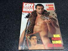 GAY BOOK Nº 12  - REVISTA GAY -  Magazine  vintage gay Spanish años 90