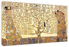 Quadro moderno Albero della Vita Klimt Arredamento Arte Arredo Casa Stampa tela