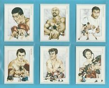 VICTORIA  GALLERY - 10 SETS OF 20 BOXING  CHAMPIONS  2ND  SERIES  CARDS  -  1992