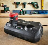 Parkside 12V Double Battery Charger for Cordless Tools Circular Saw Jigsaw etc..