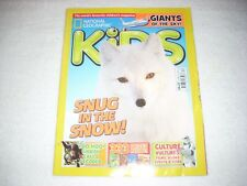 National Geographic Kids Magazine Issue 132 December 2016 Snow Wolves Huskies