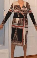Paisley Long Sleeve Any Occasion Dresses for Women