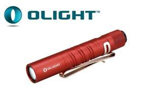 New Olight i3T EOS Red 180 Lumens LED Flashlight Torch