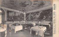 Cartolina - Postcard - Milano - Hotel du Nord - Ristorante - 1908