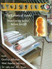 1984 Softalk Magazine: Labors of Apple Computers/Monitoring Babies Before Birth