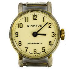 Diantus Watch Wristwatch Swiss Womens Antimagnetic Wind Up 1233 Steel