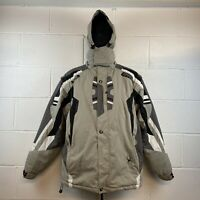 Spyder Ski Jacket | X-static Dermizax-EV Fabric | Grey  | UK 46