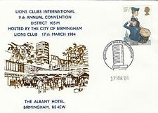 (03216) GB Cover Lions International Birmingham Convention 17 March 1984