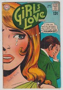 Girls' Love Stories #140, DC Romance 1969 Good