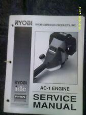 Ryobi / IDC / Ryan Trimmer/Brushcutter AC-1 4 Cycle Engine Service Manual 180964