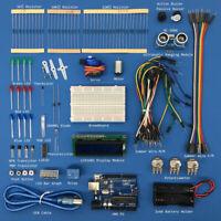 Starter Beginner Ultrasonic Learning Kit for Arduino Uno R3 LCD1602 Servo  pdf