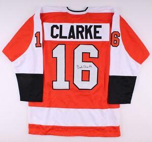 Bobby Clarke Signed Flyers Jersey (JSA) 1969–1984 / 17th Overall Draft Pick 1969