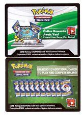 2x Pokemon Sun & Moon Forbidden Light Booster Pack Codes TCG Online