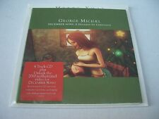 George Michael December Song Limited Edition CD Single with Christmas Card New