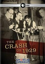 American Experience Crash of 1929 DVD Standard Region 1 Shippin