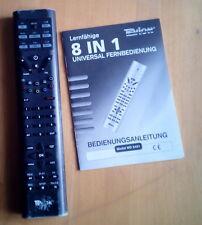 Lernfähige 8 in 1 TEVION Fernbedienung Model:MD6461 Universalfernbedienung