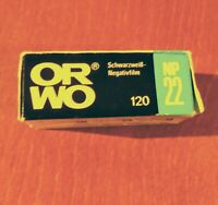 ORWO NP 22  120 (125 ASA) Expired film on 1984 made in Germany