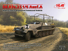 ICM 1:35 scale model kit Sd.Kfz.251/6 Ausf. A Armoured Command Vehicle ICM35102