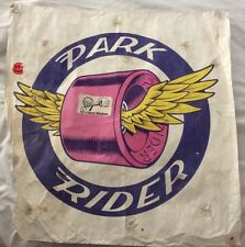 Vintage Skateboard Park Ride Skateboard Wheel Banner