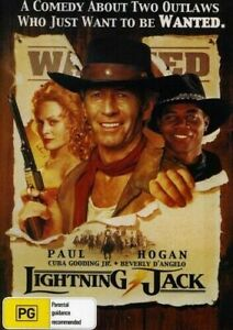 Lightning Jack DVD Paul Hogan New and Sealed Plays Worldwide NTSC 0