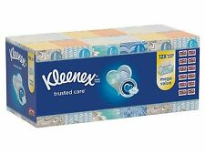 New 12 pack 160 Kleenex Ultra Soft Facial Tissues 1,920 total
