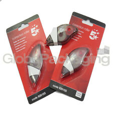2 x QUALITY TIPPEX-STYLE POCKET CORRECTION TAPE ROLLERS