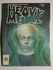 HEAVY METAL July 1980  Adult Illustrated Fantasy Graphic Novel Magazine