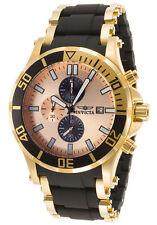 InvictA 80138 Sea Spider Sport Watch Yellow gold  50mm NEW
