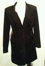 Vintage Droles De Dames Blazer Women's Lined Button Size M Padded Shoulders