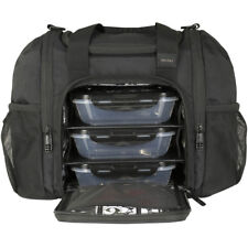 6 Pack Fitness Expert Innovator Mini Meal Management Bag - Stealth