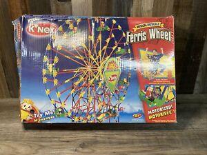 Knex Musical Motorized  Ferris Wheel Building System 3 Feet Tall OPEN BOX