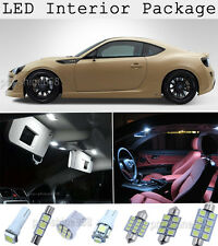 4 x Xenon White 6000k SMD LED Interior Lights Kit For 2013-2015 Scion FRS KP