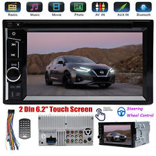 "For Nissan Altima Double 2 Din 6.2"" Car Radio DVD Stereo Touchscreen Bluetooth"
