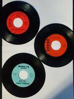 Lot of 3 Loose Single Records 60's / The Union Gap / Joe Dowell  45 rpm