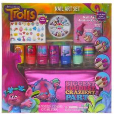 240 Nail Gems 42 Sticker Townley Girl Dreamworks Trolls Nail Art Set Holiday