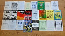 Welsh Club Rugby Programmes A - M 1958 - 2006